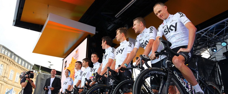 Tour de France 2017 teams presentation: Team Sky